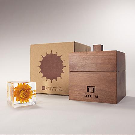 宙 Sola | Products | 立方体木箱セット