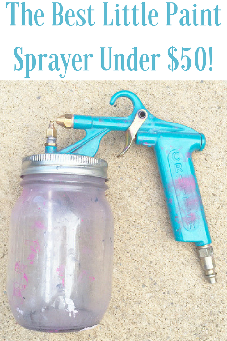 My Adventures Painting Cabinets With A Critter Spray Gun
