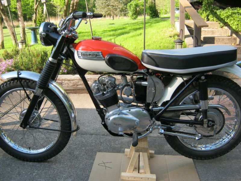 1966 Triumph T-20 Mountain Cub
