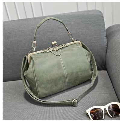 Women Handbag Brand Women Messenger Bags Europe Style Retro PU Leather Shoulder  Bag Fashion Women Bags 65bd1f1f2a859