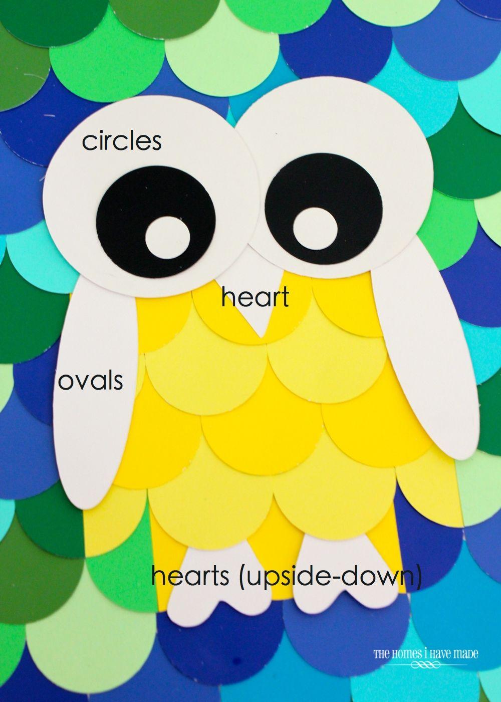 Owl Paint Chip Art {Little Boy Room Project | Pinterest | Paint ...