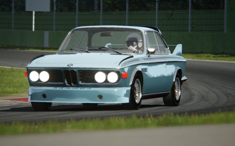 Assetto Corsa - BMW 3.0 CSL S1 1971 - Imola | GTM Virtua Super Cars ...