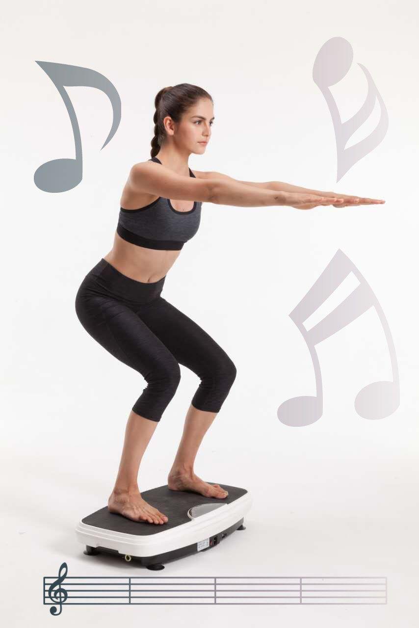 Vibrationsplatten | Vibrationsplatte, Übungen