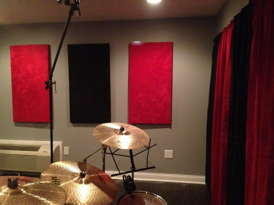Diy sound proof panels step by step kids ministry 2 - How to soundproof your apartment ...