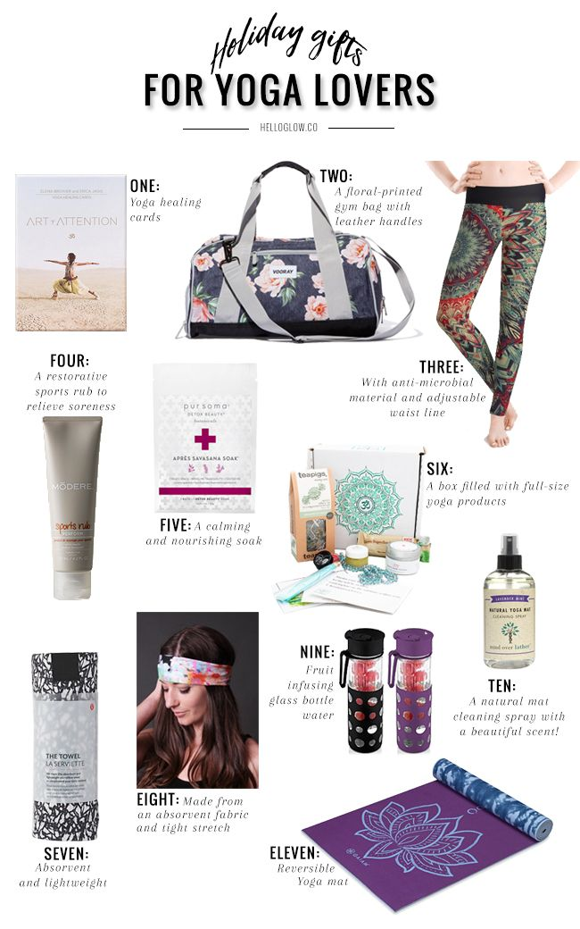 11 Holiday Gifts For Yoga Lovers