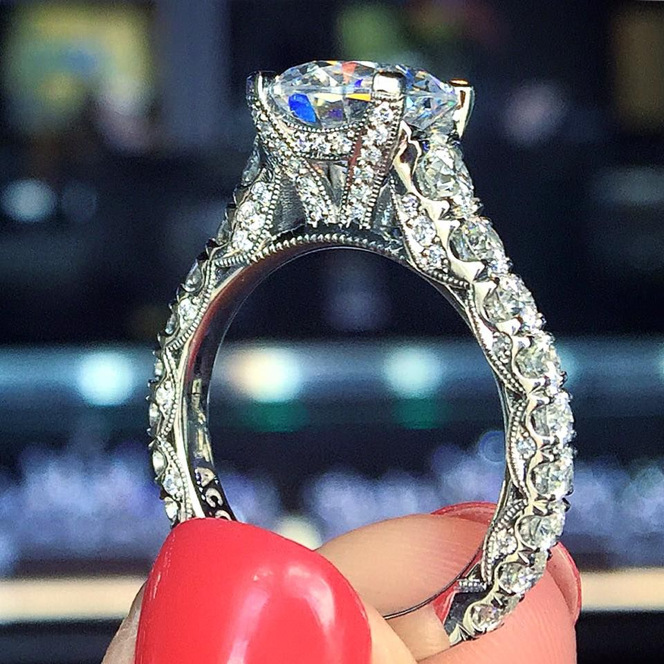 Tacori's Most Requested Ring Back! It's A Custom Variation Of Style  Ht2530a  Just Go To Any Tacori Location And They Can