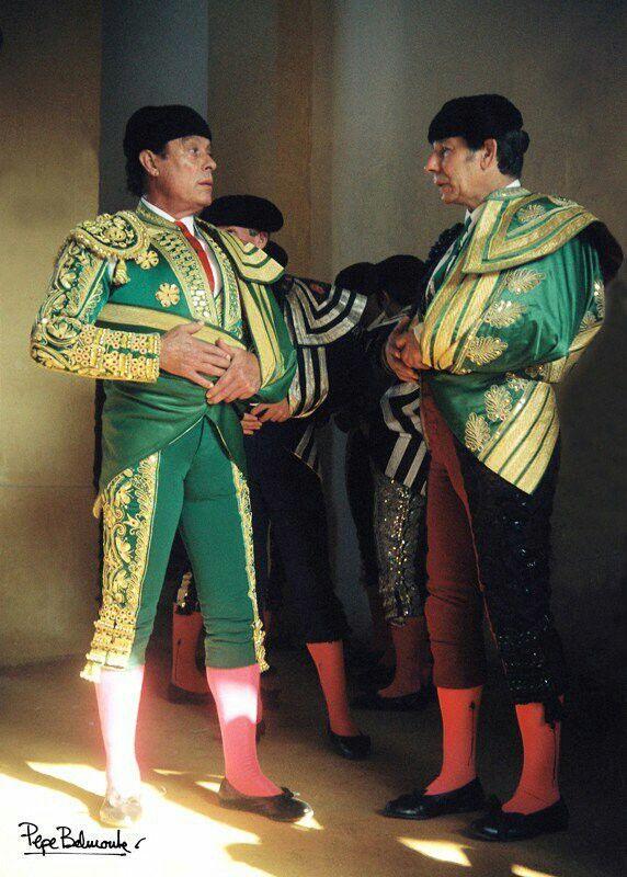 Curro Romero y Rafael de Paula | Toros y toreros, Toros, Torera