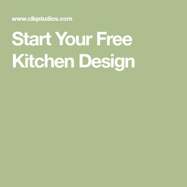 Start Your Free Kitchen Design  Kitchen  Pinterest  Free Enchanting Kitchen Design Planner Free Review