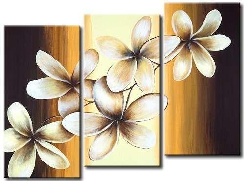 flores telas Pinterest Flores, Cuadro y Pinturas - cuadros para decorar