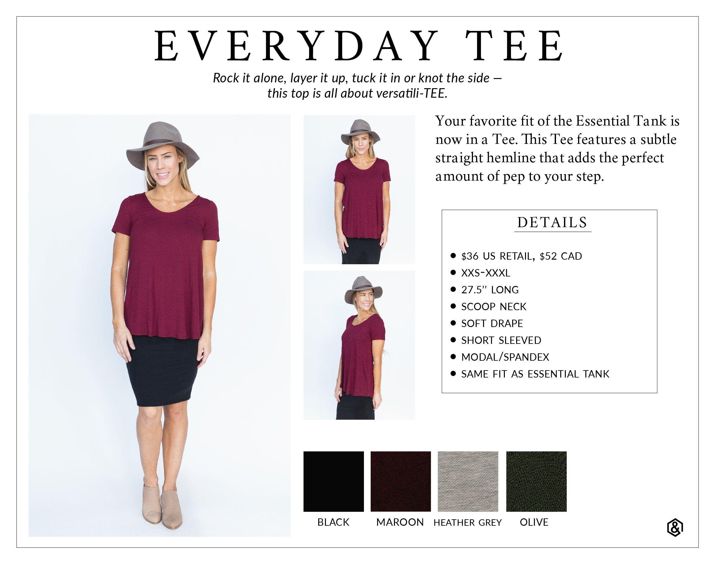 88f2c766 Agnes & Dora Everyday Tee Simple Basic T Shirt for Everyones Closet  Wardrobe Agnes and Dora Outfits with Leggings www.shopmyprettythings.com  #agnesanddora ...