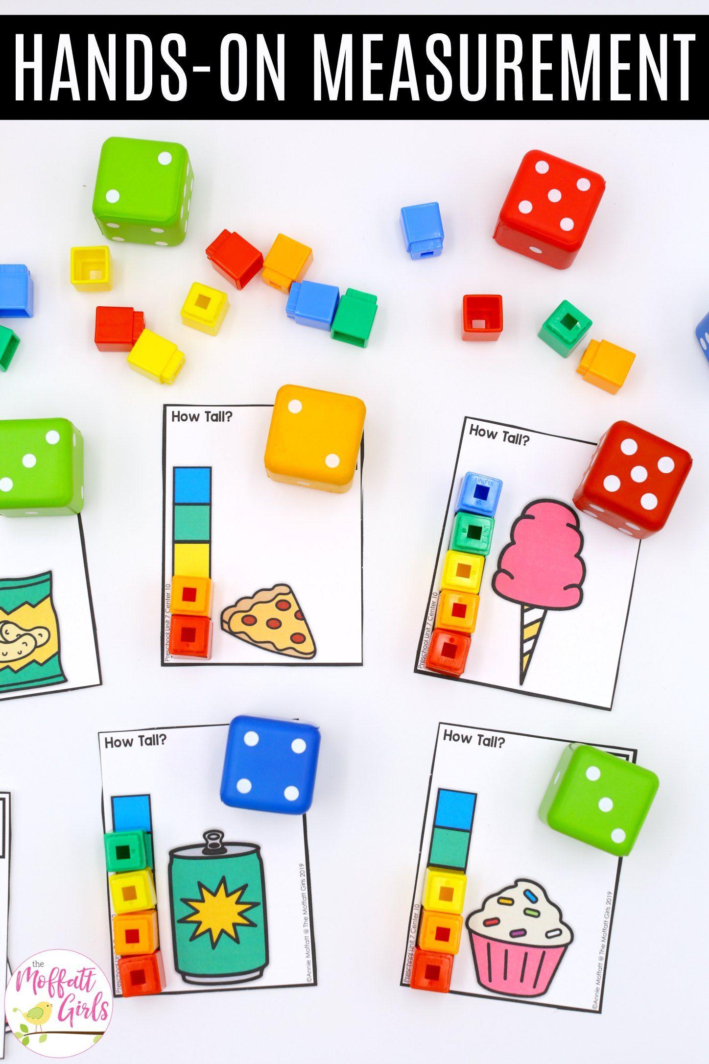 Preschool Math Measurement