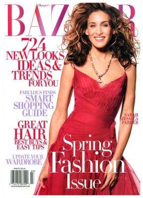 Sarah Jessica Parker For Harpers Bazaar US March 2009