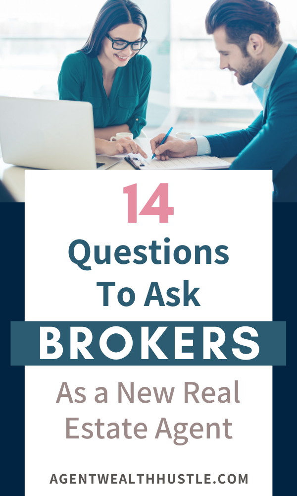 How To Choose A Real Estate Broker As A New Realtor 14 Questions To Ask This Or That Questions Brokers Real Estate Agent Marketing