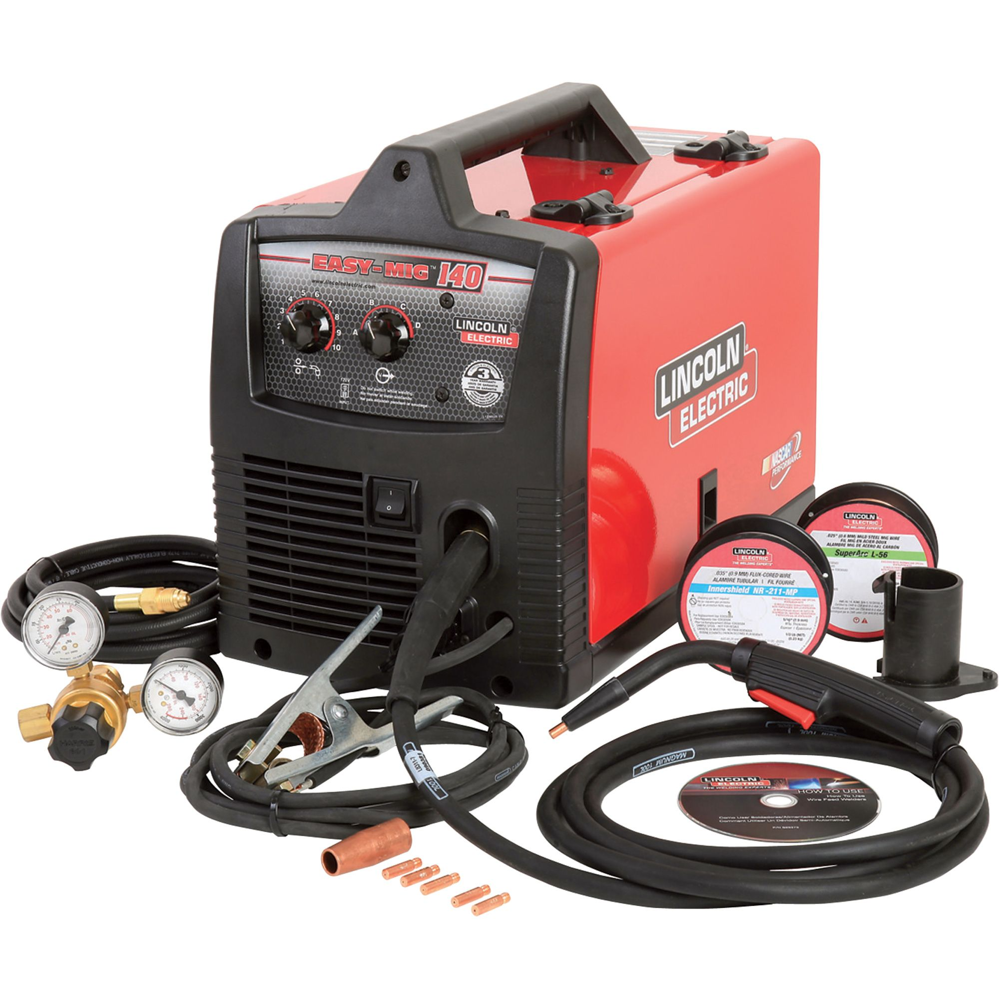 lincoln electric easy mig 140 flux cored mig welder \u2014 transformerFree Shipping Lincoln Electric Easy Mig 140 Fluxcore Mig Welder #2