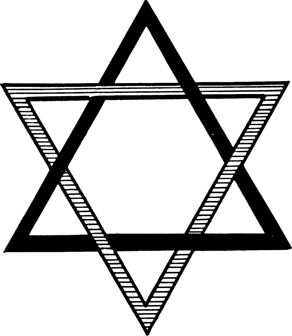 Seal Of Solomon When Combined The Triangles Of Fire And Water Form