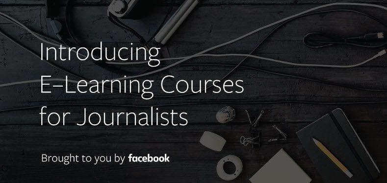 Facebook lanza cursos online y gratuitos para periodistas https://t.co/P9rwBKMQ3a https://t.co/26Jxjf9yGD #CPMX8