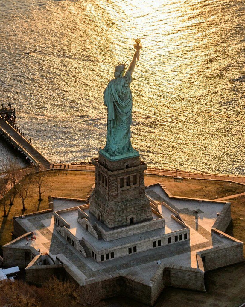 """""""Statue of Liberty National Monument by Killian Moore [HD https://t.co/Nl0xO3EIhl]"""""""