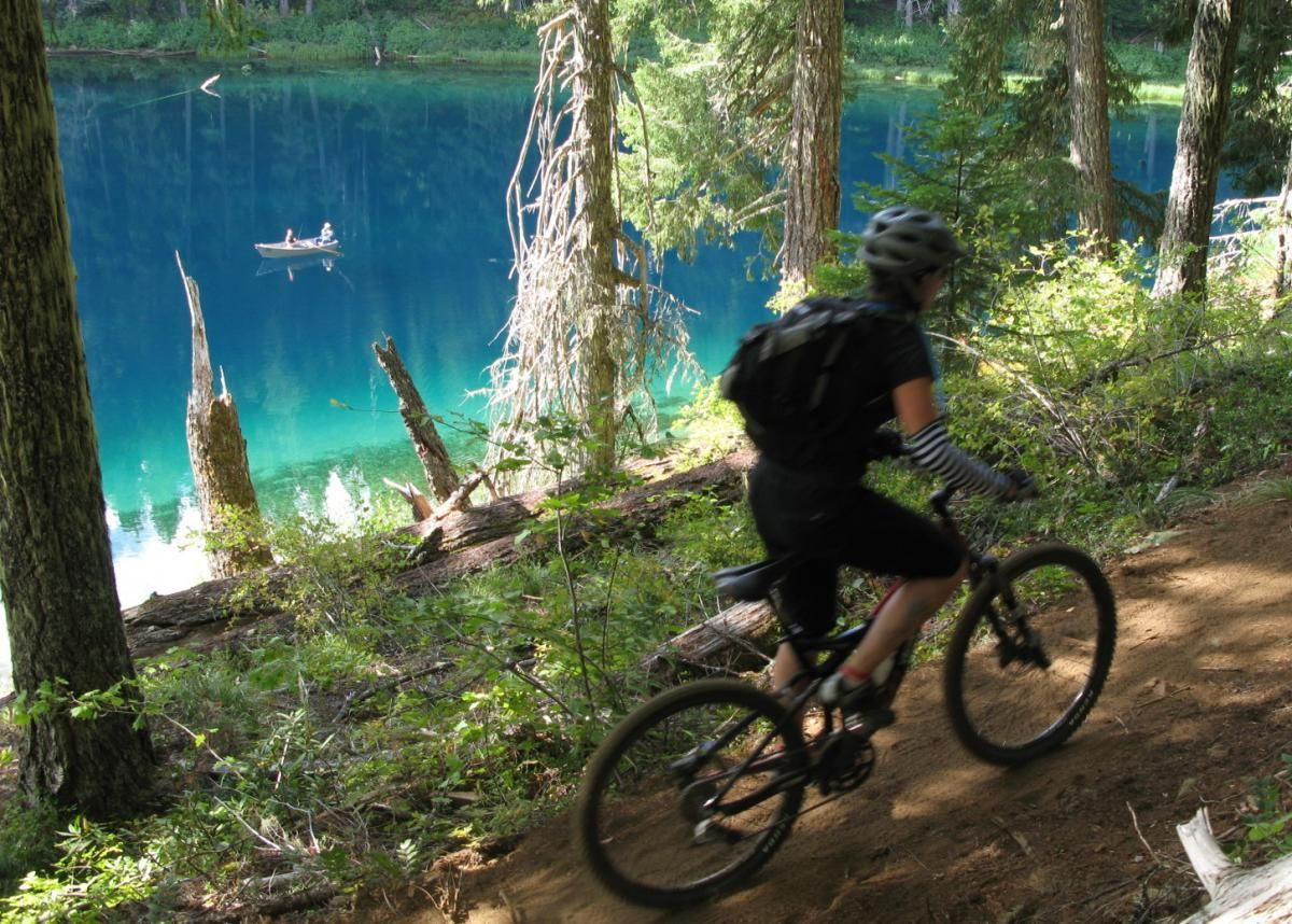 One Of The Best Mountain Biking Trails In The Us Mckenzie River
