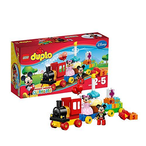 Toy Interlocking Gear Sets Lego Duplo Brand Disney 10597 Mickey And Minnie Birthday Parade Building Kit Want Additional Info Click On The Image Brinquedos
