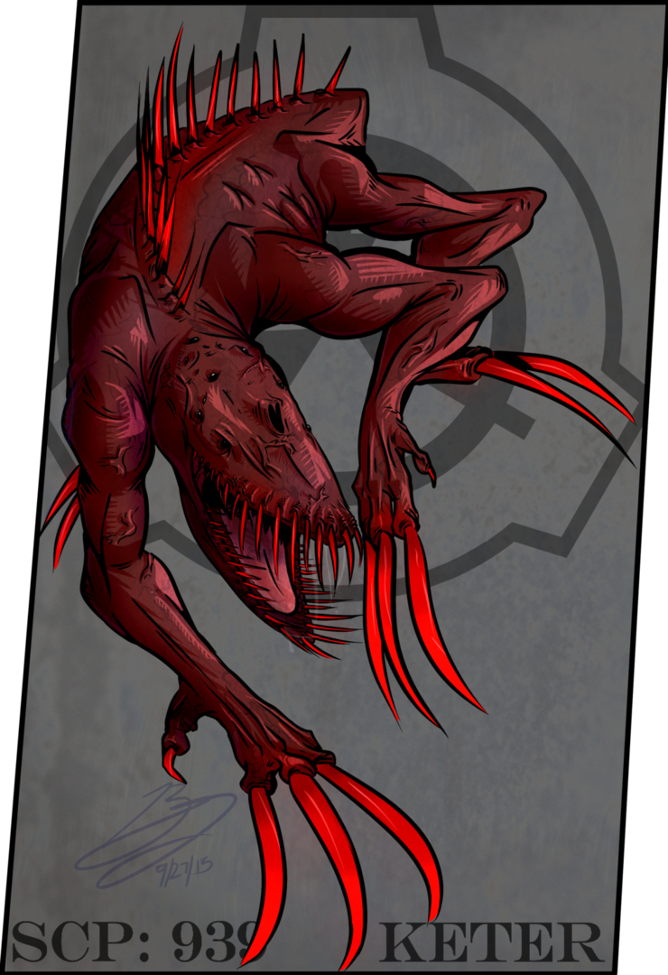 Scp 939 by Beegbot   Dragons United   Scp, Deviantart