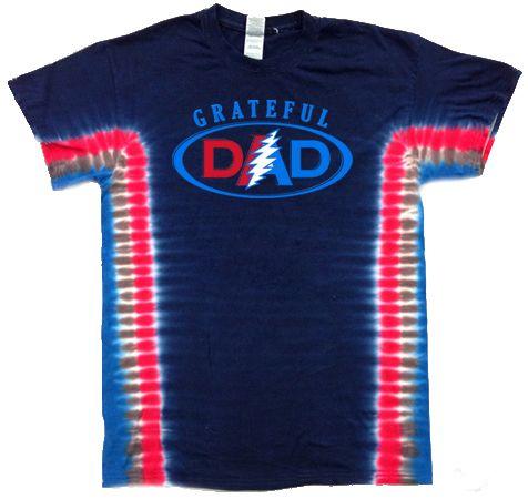 mens tie dye shirts | Grateful Dad Mens Tie Dye Tshirt - Tie Dye T-shirts