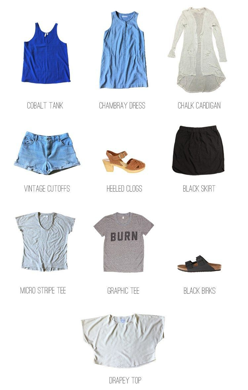 10×10: Summer Closet Challenge