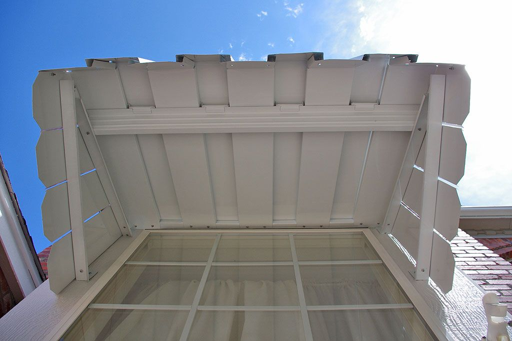 Over Door Awnings | How To Build A Wood Awning Over A Door   LoveToKnow: