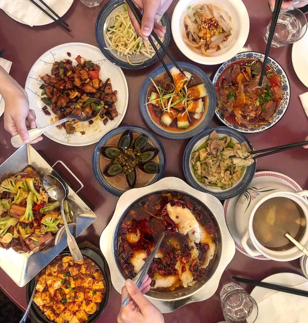 A Variety Of Szechuan At Z Y Authentic Chinese Recipes Chinese Food San Francisco Chinese Food