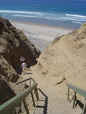 Blacks Beach Stairs In Lajolla Ca One Of My Favorite Places To Hike With Friends And Beautiful View Course