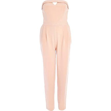 Light pink bandeau jumpsuit €75.00