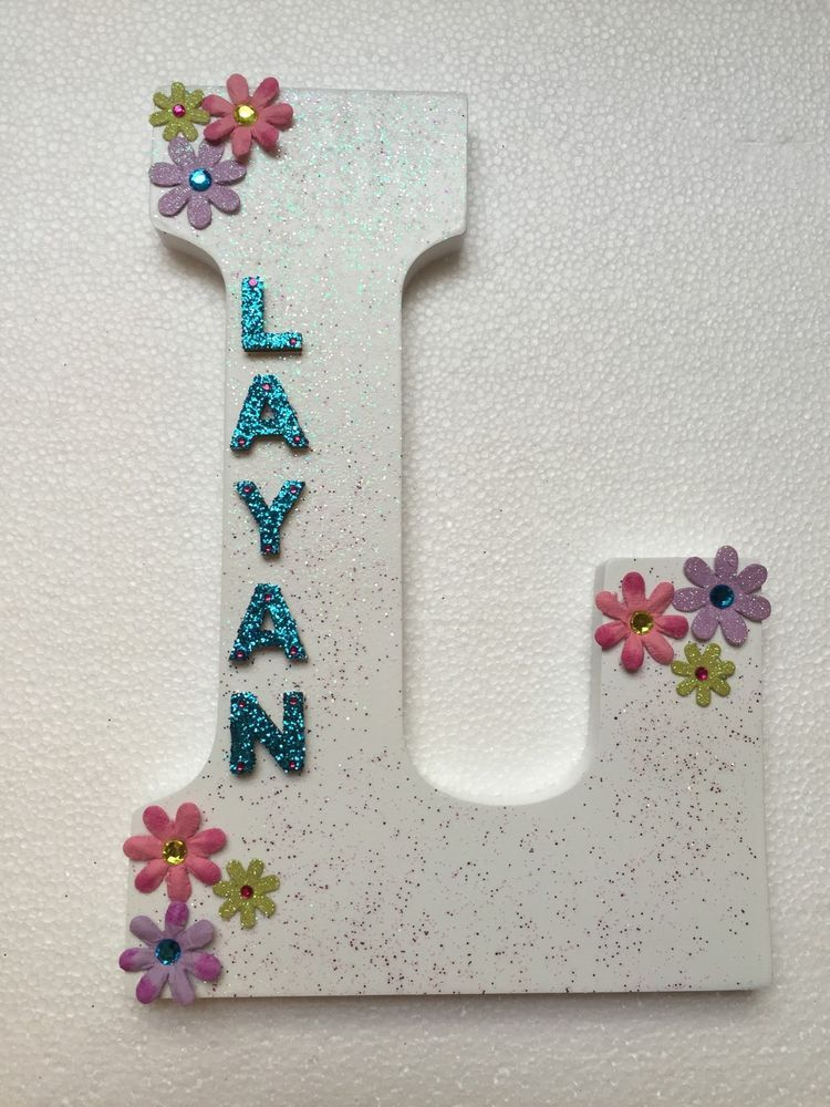 ANY NAME Wood Letters-Nursery Decor Custom made to your order or decor