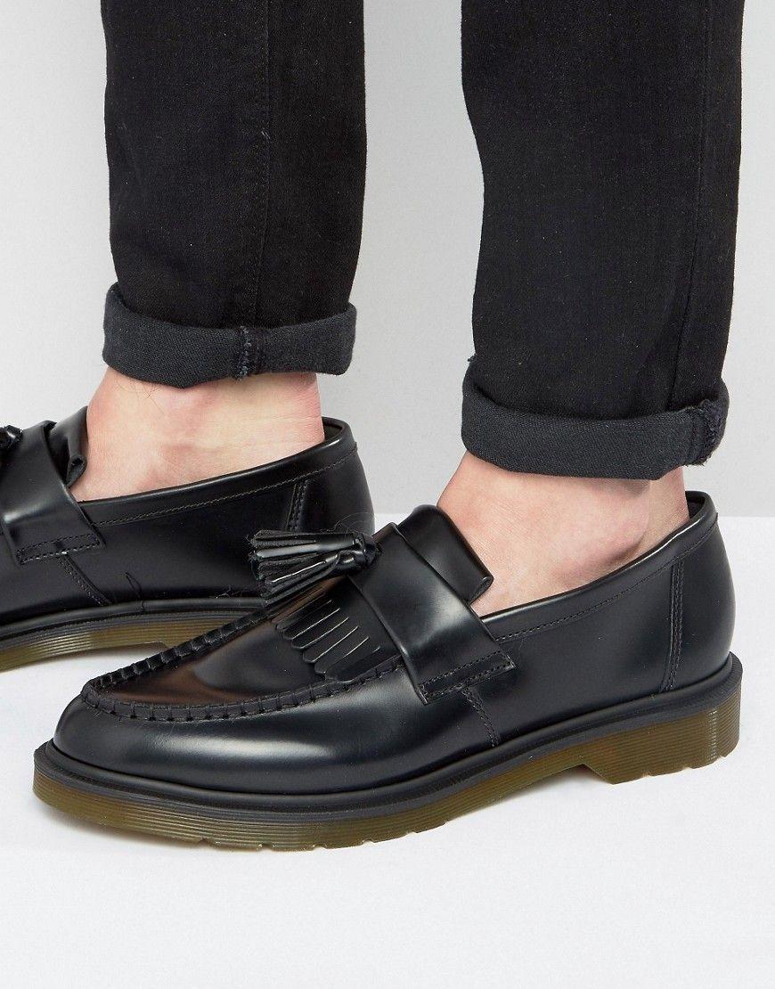 Dr Martens Adrian Tassel Loafers Black Best Shoes For Men Loafers Men Dress Shoes Men