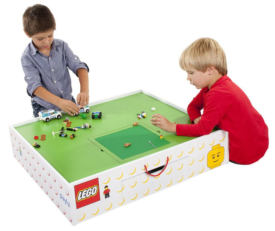 Kids Room Bedroom Storage Chest Unit Box With Lid For Sale: LEGO Underbed Storage / Table With Drawer