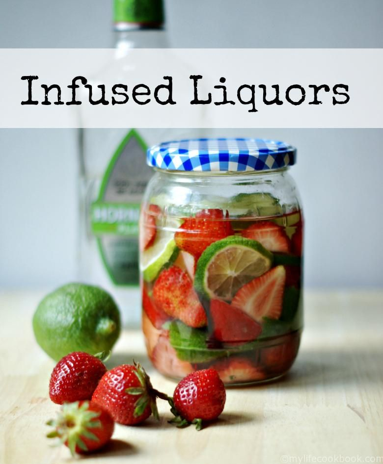 Infused Vodka, Fruit, Low Carb