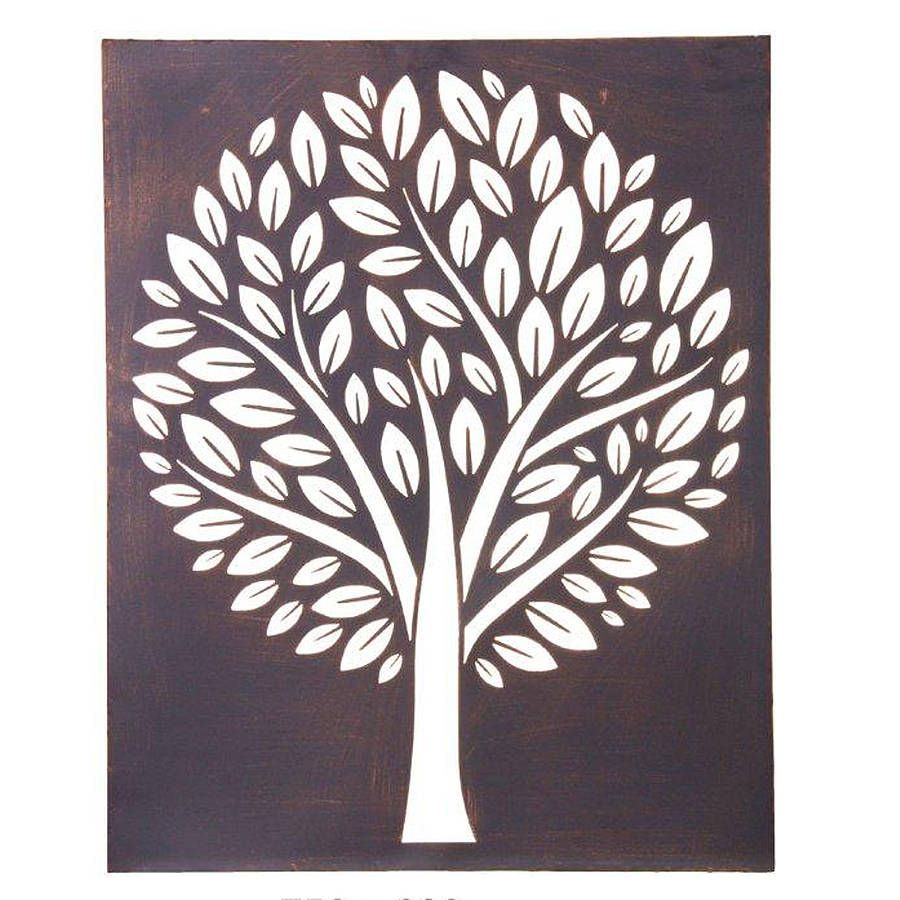 Rectangular Wall Art an unusual piece of metal wall art.rectangular in shape, a large
