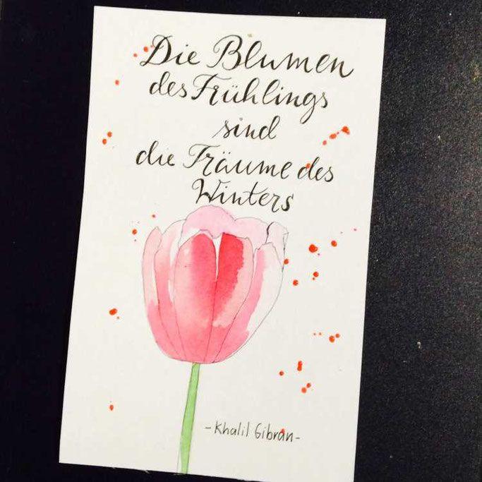 Letter Lovers: tradonde zu Gast | Mein spruch ...