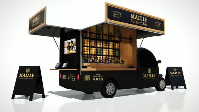 Daily What Nyc S First Dijon Mustard Truck Hits Streets