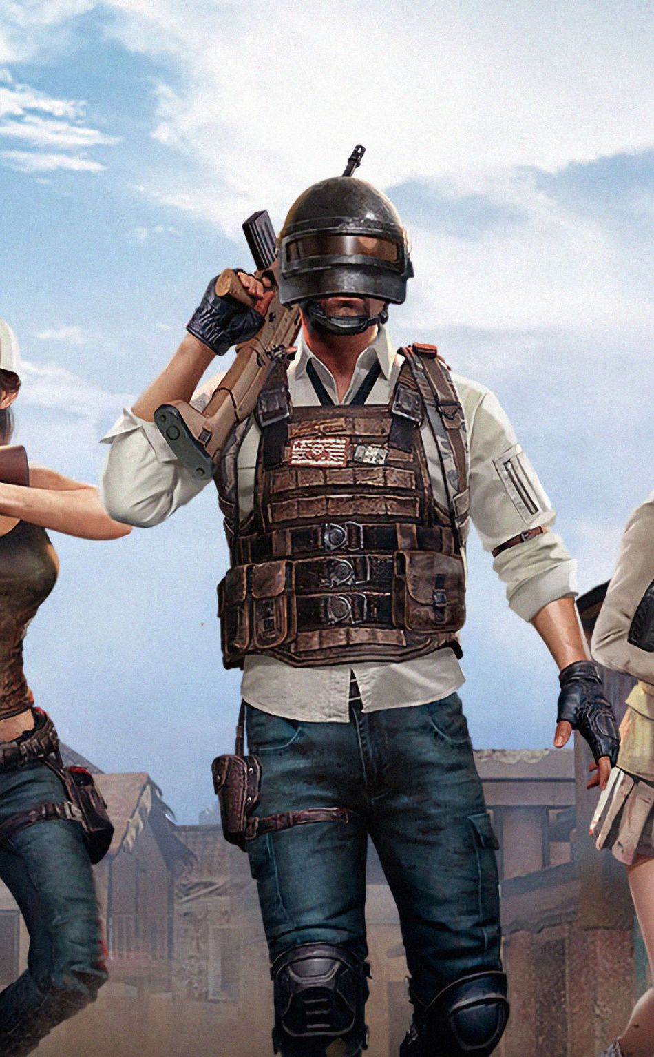 Pc Game Squad Of Pubg Wallpaper Laptop Wallpaper Mobile Smartphone Game Wallpaper Iphone