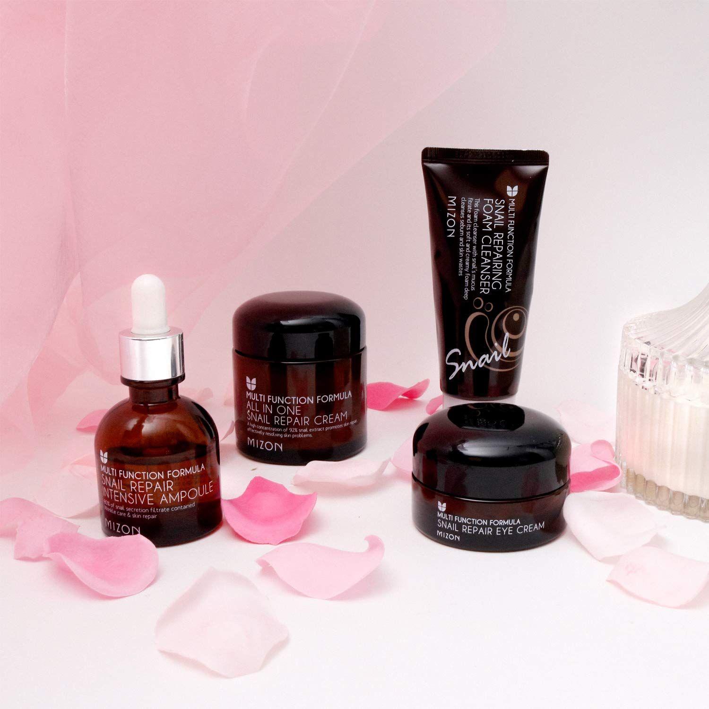 Mizon Korean Skin Care Gift Set In 2020 Skincare Gift Set Skin Care Gifts Repair Cream