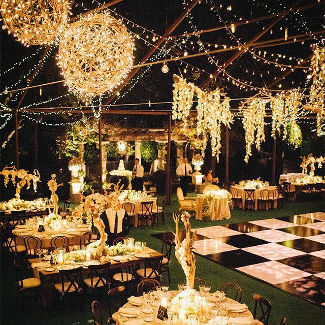 Light Up Your Wedding Night In The Most Elegant Fashion