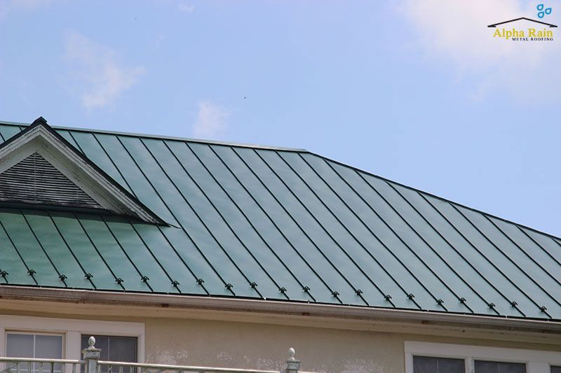 Best This Beautiful Matte Forest Green Standing Seam Metal Roof 640 x 480