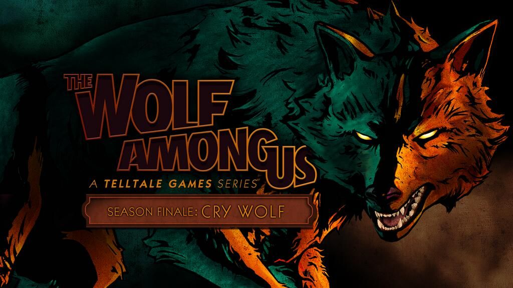 Hd 1920 X 1080 The Wolf Among Us Streetview The Wolf Among Us Aesthetic Art Wolf Wallpaper
