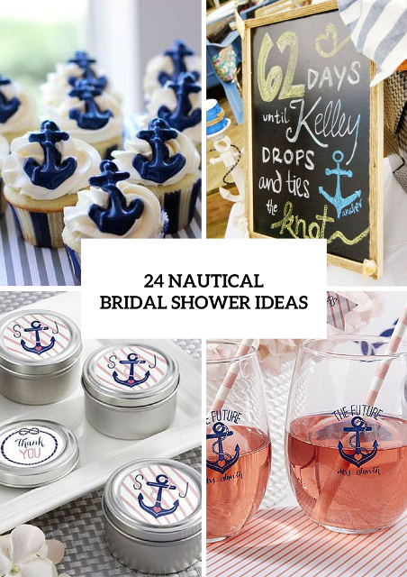Great Ideas For A Pretty Nautical Themed Bridal Shower Nautical Theme Bridal Shower Bridal Shower Party Favors Bridal Shower Theme