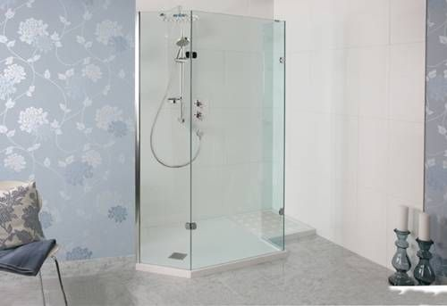 Though The Shower Panel Is Not Just A Pretty Face The Multi Functionality Of This Shower I Luxury Shower Enclosures Walk In Shower Enclosures Shower Enclosure
