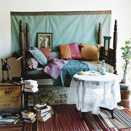 this is probably what my bed would look like if i never had to leave it... i would do all of my homework, sleeping and probably eating all in one place.. oops #gypsysetup