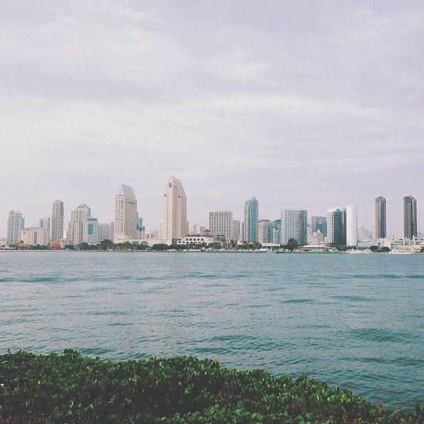 San Diego from Coronado #sandiego #coronado #ocean - http://instagram.com/jennchambless