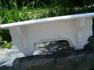 Decorative Wall Shelf from 40s or 50s