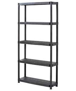 Buy 5 Tier Plastic Shelving Unit | Garage storage and ...