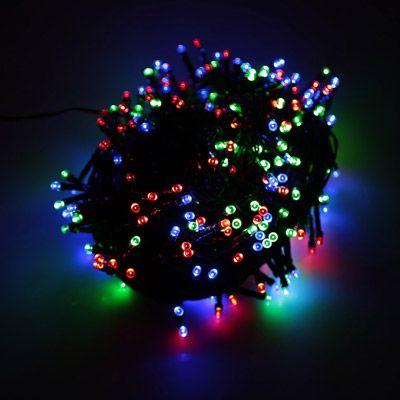 RGB 500 LED Christmas String Light Outdoor Decoration Fairy Xmas - outdoor christmas decorations wholesale
