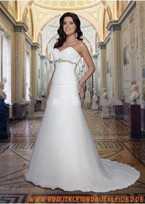 Elegante Brautkleider mit Tüll A-Linie online kaufen